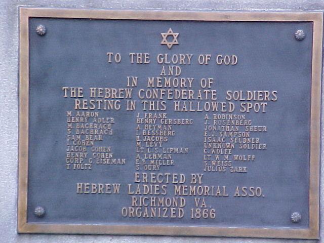 Jewish Confederates